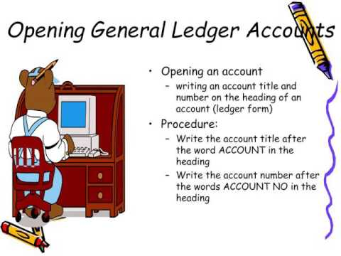 Chapter five youtube. Accounting clipart general ledger