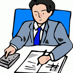 Patrick thatcher cpa pc. Accounting clipart male accountant