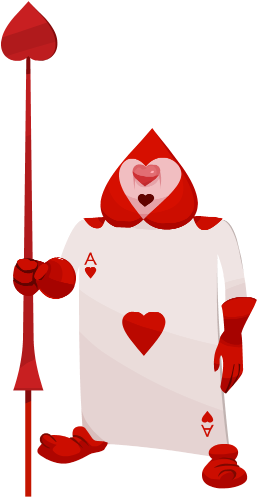 Image card soldier khx. Ace of hearts png