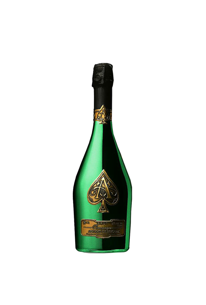 Ace of spades bottle png. Limited edition green wine