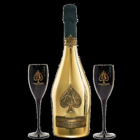 Armand de brignac brut. Ace of spades bottle png