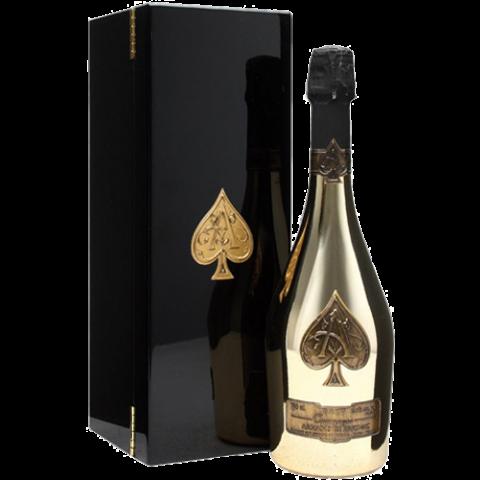 Ace of spades bottle png. Armand de brignac gold