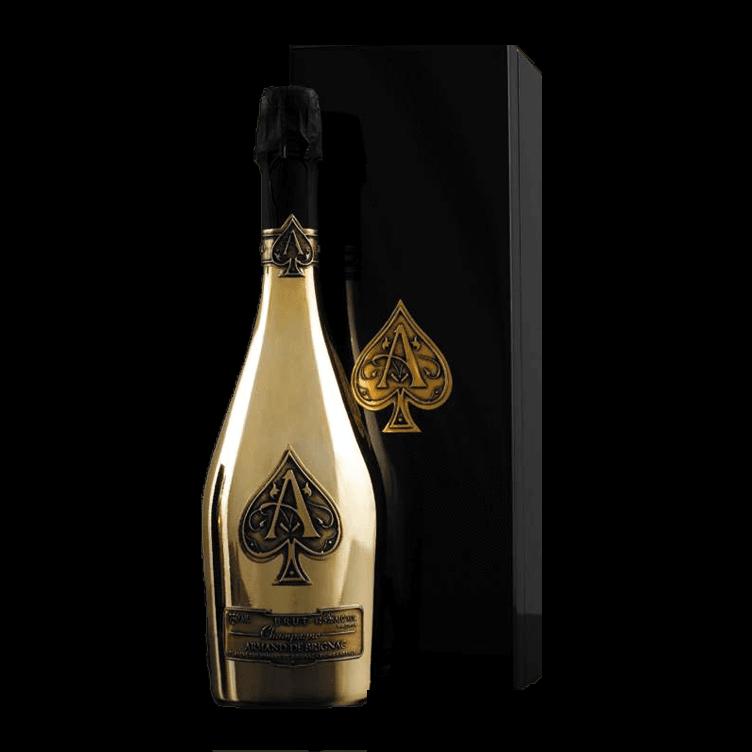 Wines wholesales armand de. Ace of spades bottle png