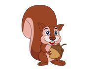 Acorn clipart animated. Free squirrel clip art