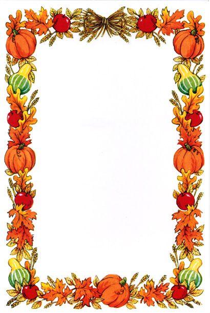 Acorn clipart banner. Harvest border incep imagine