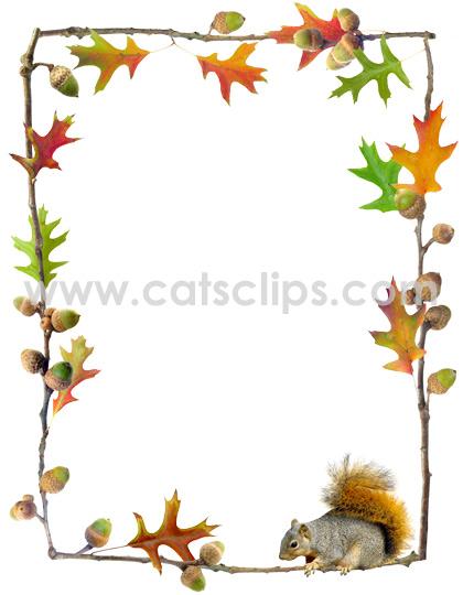 collection of oak. Acorn clipart banner