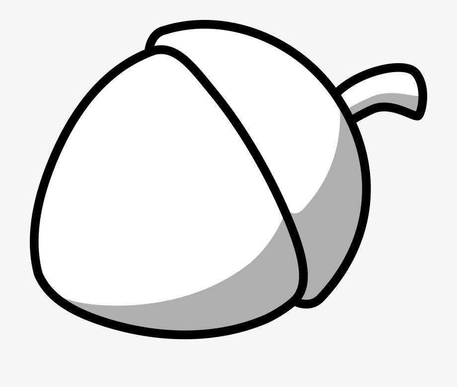 Acorn clipart black and white. Corn line art