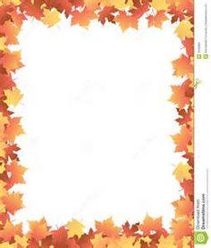 Marc tardor borders and. Autumn clipart boarder
