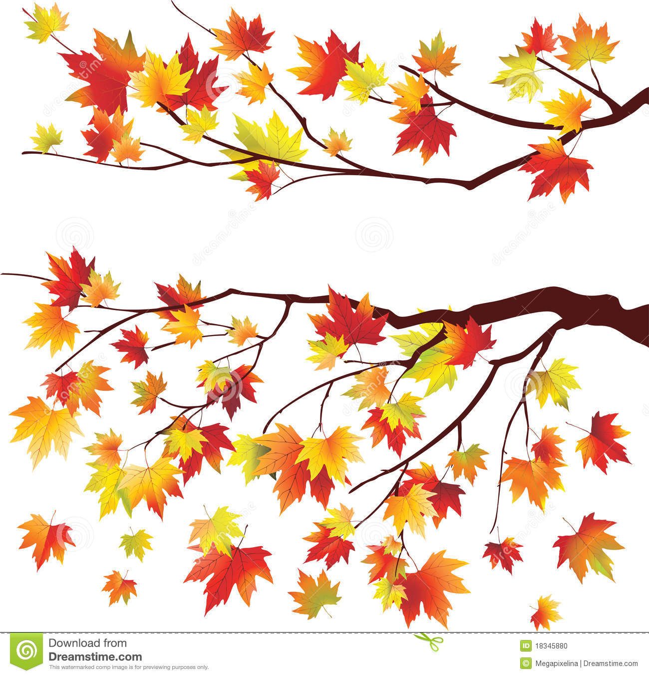 Cliparts autumn tree. Acorn clipart branch