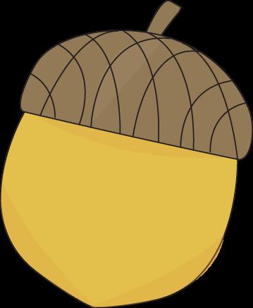 Acorn clipart brown. Free fall clip art