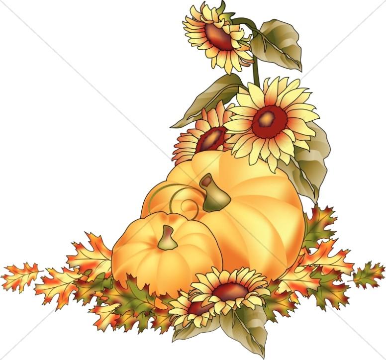 Autumn clipart harvest. Day images sharefaith pumpkins
