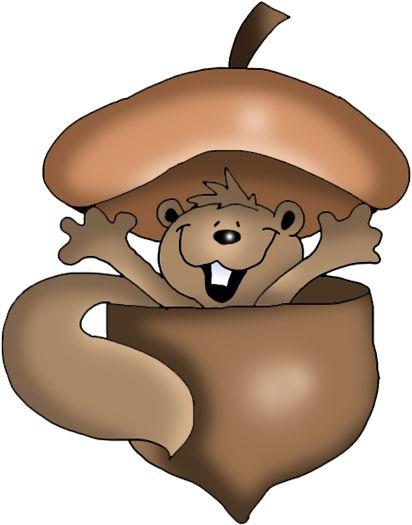 best squirrels images. Acorn clipart painting