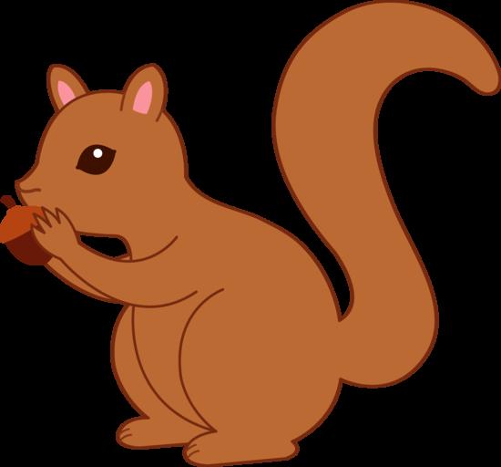 Acorn clipart pile. Autumn fall squirrel and