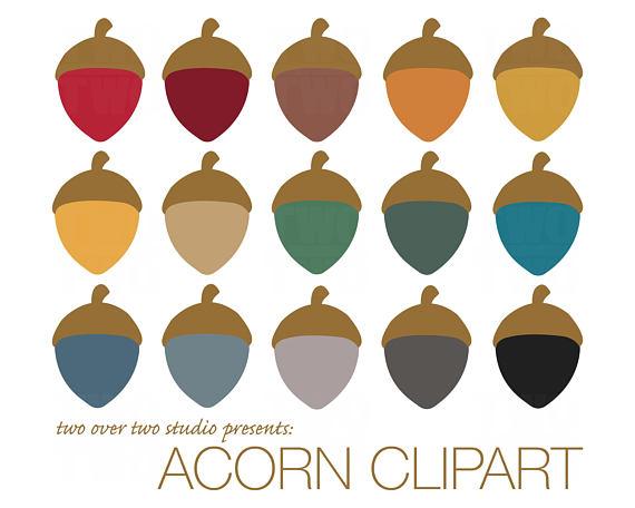 Acorn scrapbook
