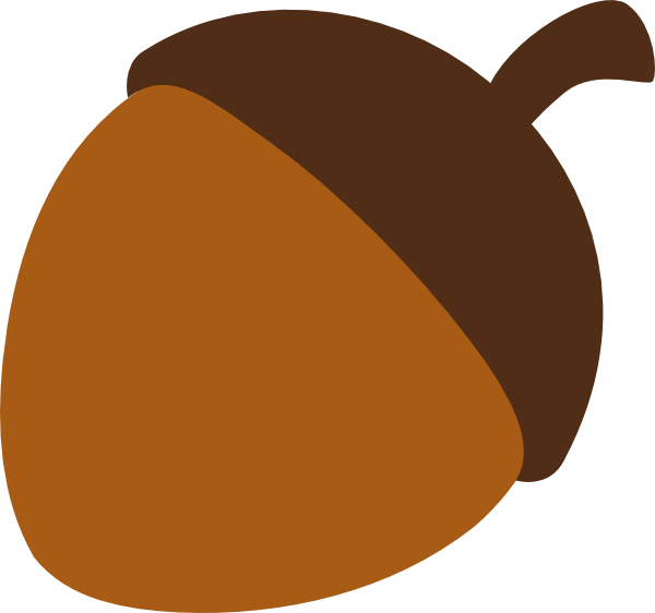 Clipart thanksgiving simple. Acorn free on dumielauxepices