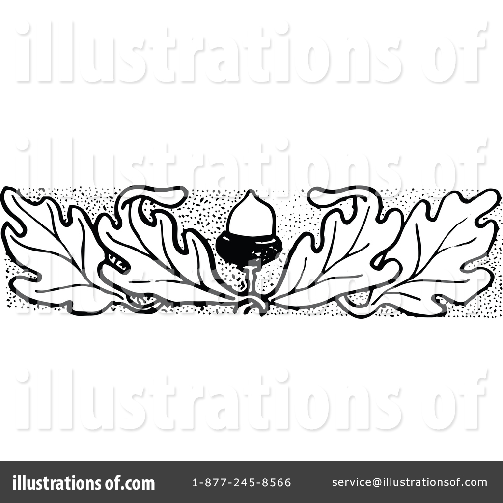Acorn clipart vintage. Illustration by prawny royaltyfree