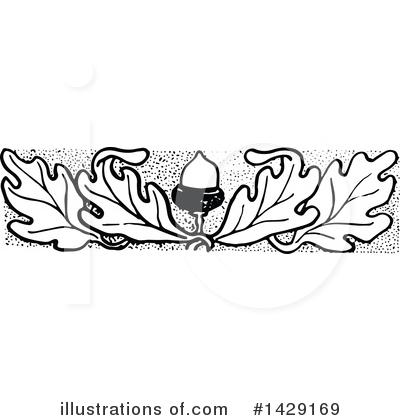 Illustration by prawny royaltyfree. Acorn clipart vintage