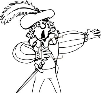 Acting clipart black and white. Actor