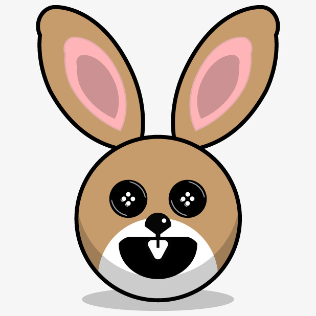 Hand painted rabbit lovely. Acting clipart cartoon