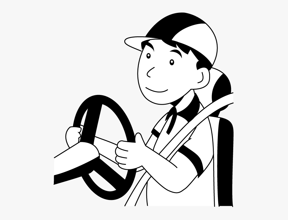 Driver clipart black and white. Acting call drivers in