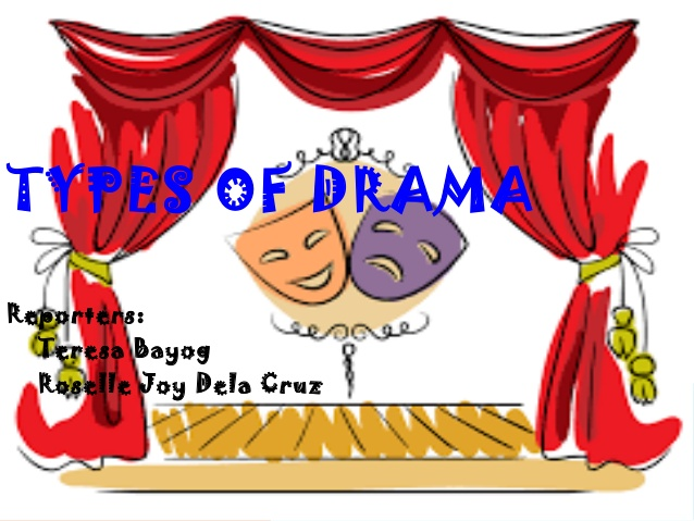 Types of drama reporters. Actor clipart dramatization