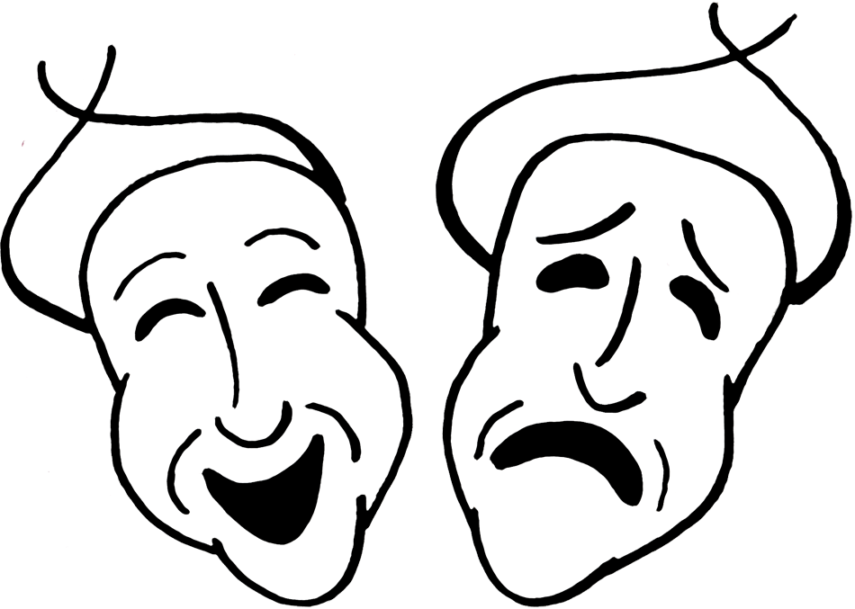 Acting clipart faced. Niamah november wednesday funnies