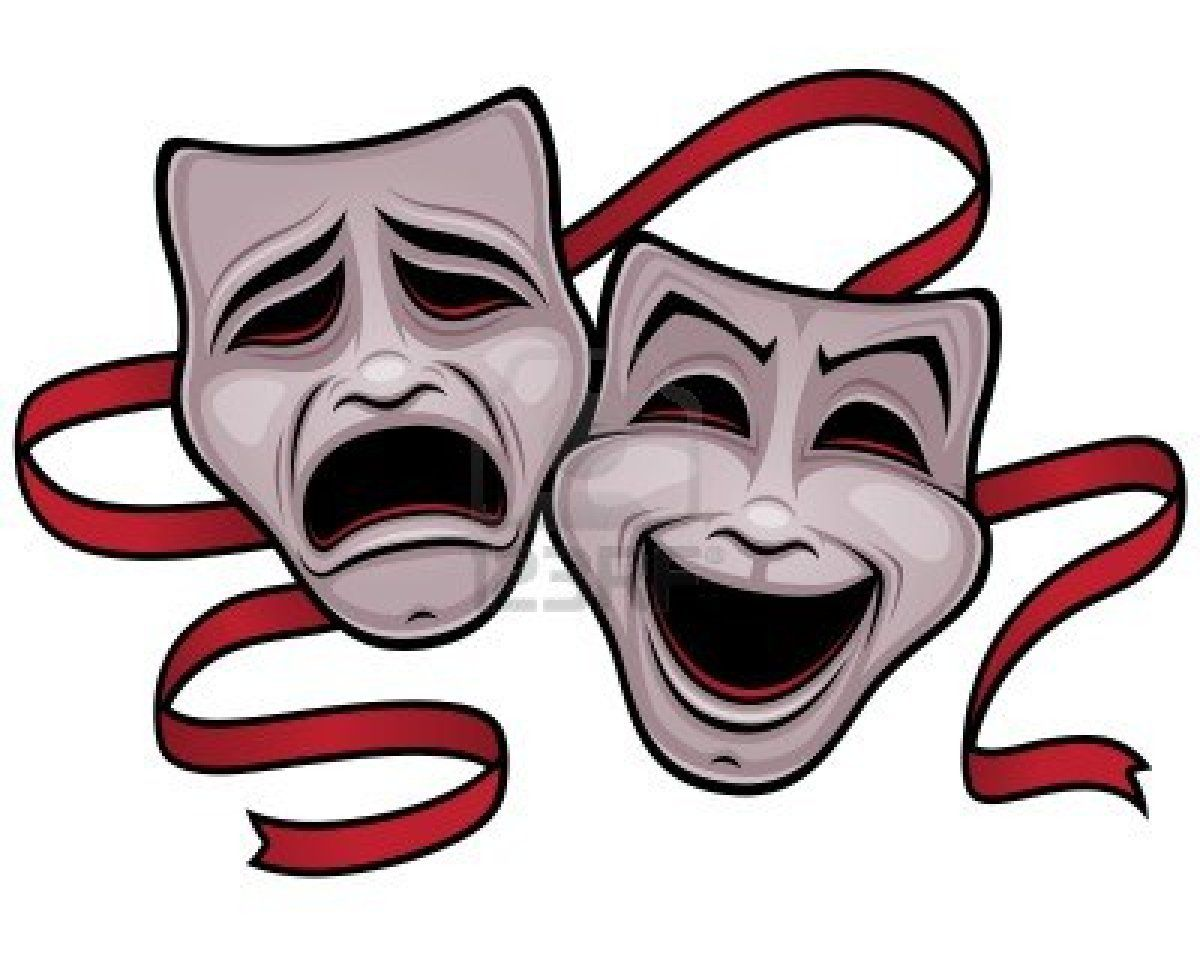Acting clipart faced. Theater google search oh