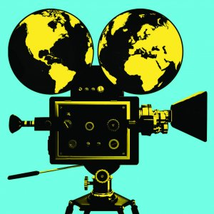 Acting clipart film making. Study abroad the top
