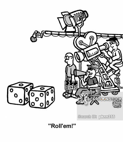 Movie cartoons and comics. Acting clipart film making