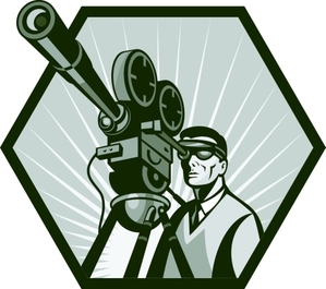Acting clipart film making. Shooting for success an