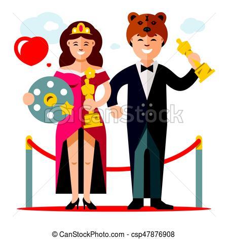 Actor clipart movie actor. Actors cinema and actress
