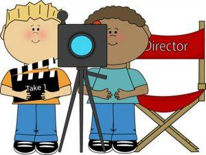 Parenting aspiring child actors. Acting clipart movie actor