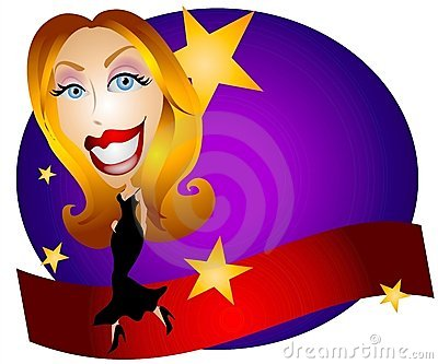 Acting clipart movie star. Free download best