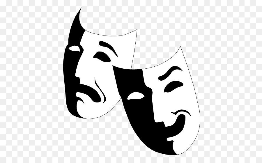 Actor clipart actor mask. Musical theatre drama clip