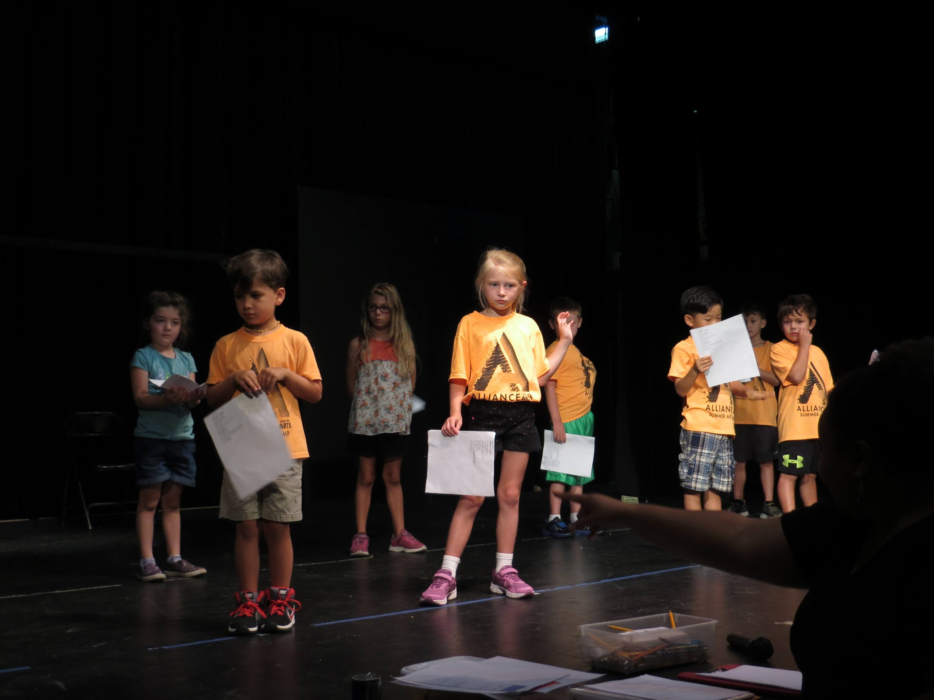 Acting clipart musical theater. Summer arts camp alliance