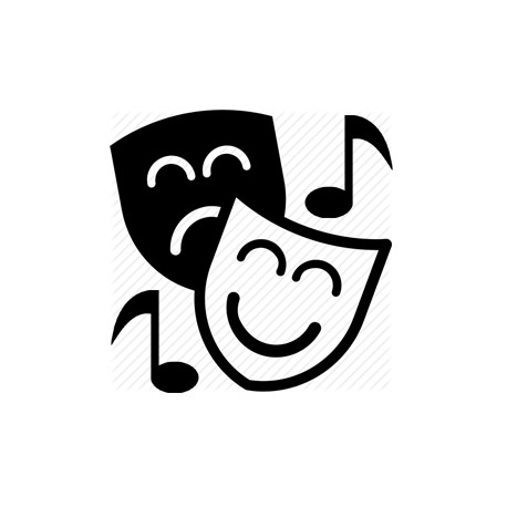 Sd theatre solo for. Acting clipart musical theater