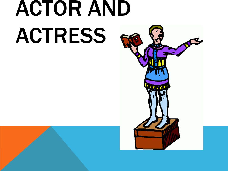 Theatre terms edited by. Acting clipart slideshow