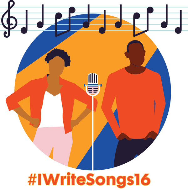 Acting clipart song writer. High school students compete