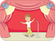 Actor clipart theatre actor. Search results for acting