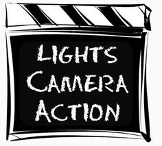 Free movie cliparts download. Acting clipart tv star