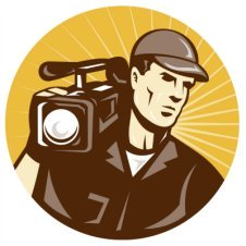 Acting clipart video recording. Top videography tips simple