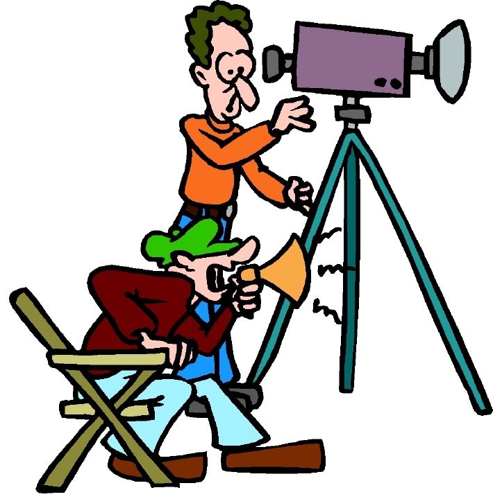 Acting clipart video recording. Film workshop chemistry behind