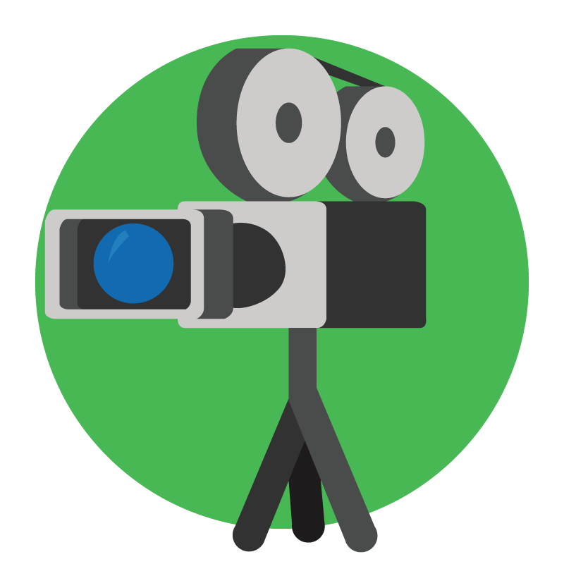 Acting clipart video recording. Corporate in the definitive