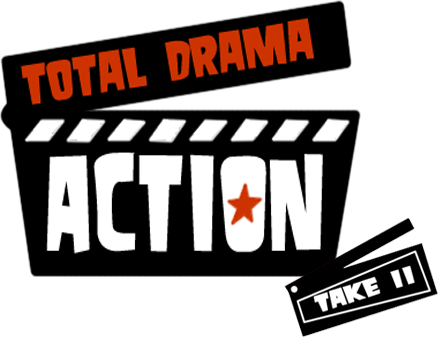 Action clipart action genre. Total drama take ii