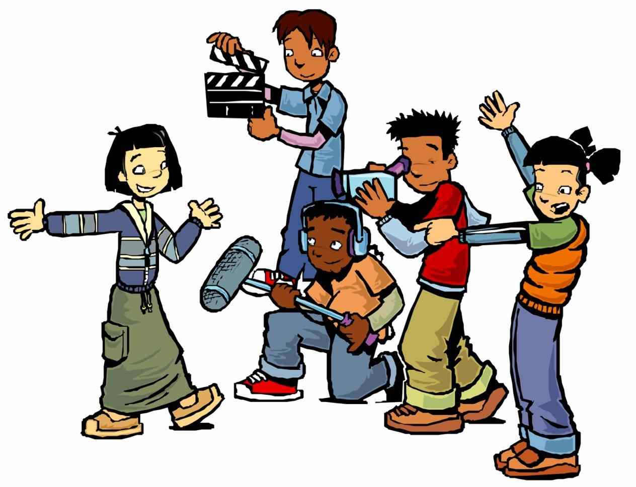 Action clipart action movie. Board clip art movies