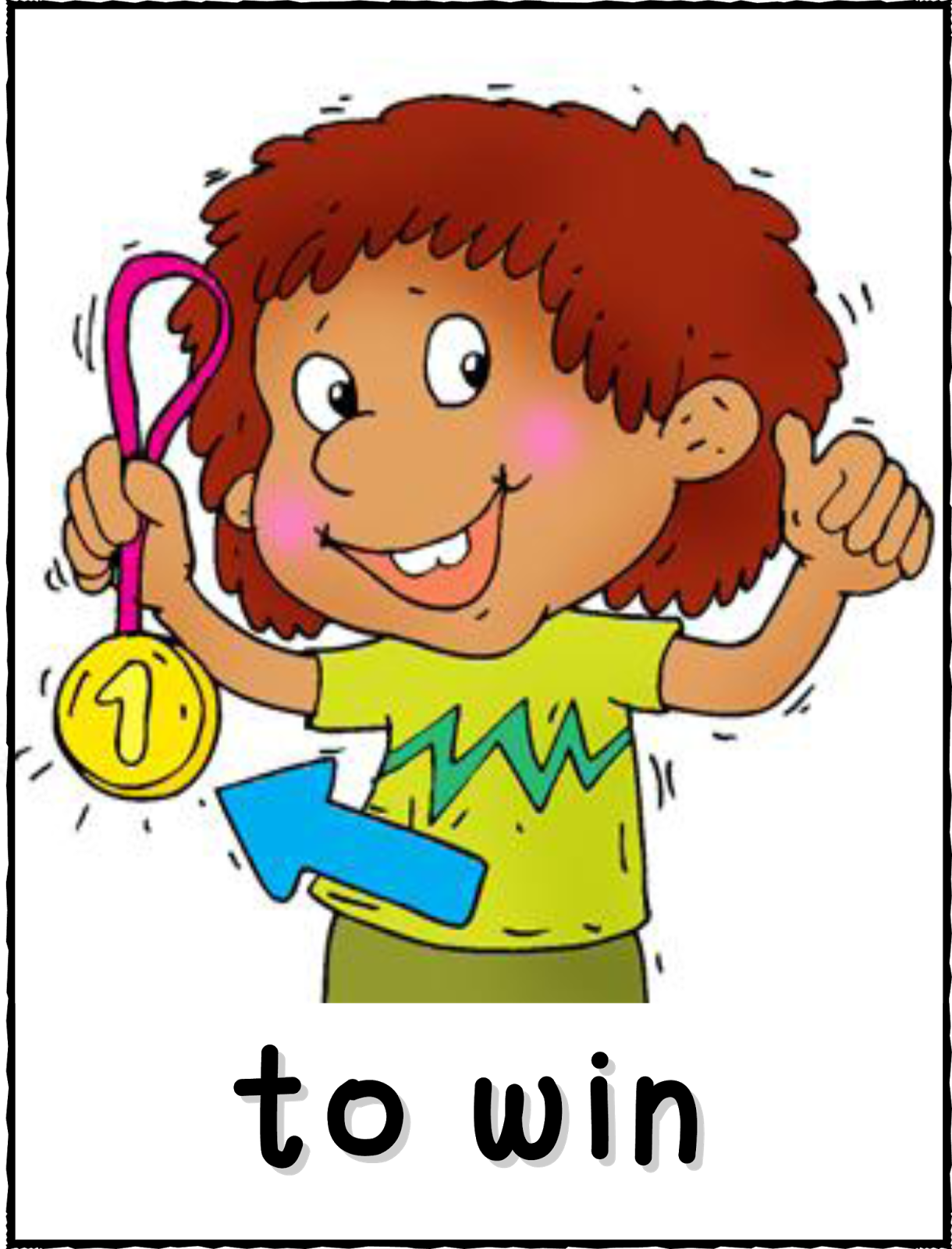 Verb please of english. Action clipart action word