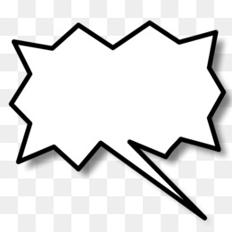 Line triangle point area. Action clipart bubble