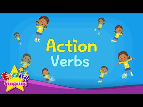 Kids vocabulary verbs words. Action clipart child action
