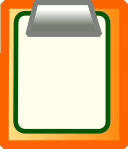 Clip art at clker. Action clipart clipboard