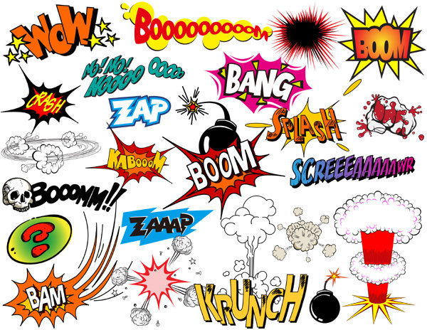 Quotes about heroes. Action clipart comic book